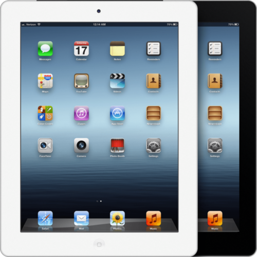 New Apple iPad 3 WiFi 4G 16GB