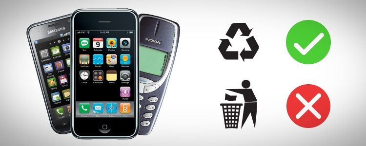 Why You Should Recycle Your Phone