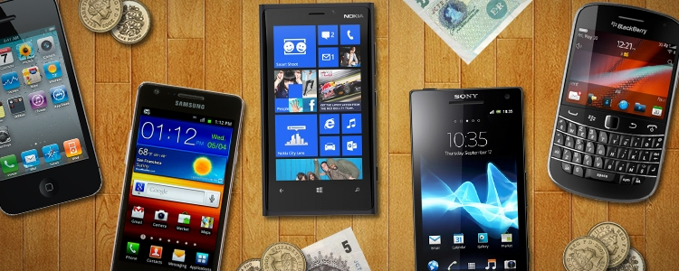 Top 5 Budget Smartphones for Christmas 2012