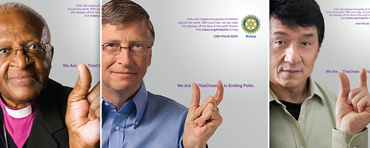 Bill Gates: 'We can eradicate polio'