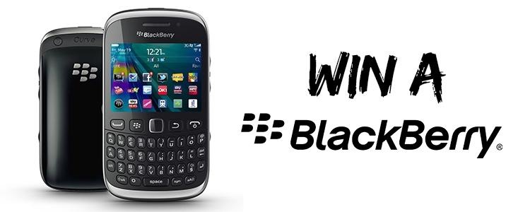 Win a Blackberry