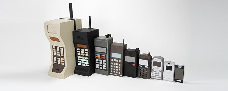 Mobile Phone Turns 40