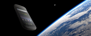 Smartphone Launched into Space